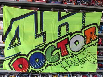 Afbeelding van Valentino Rossi 46 the doctor vlag flag VRUFG265903