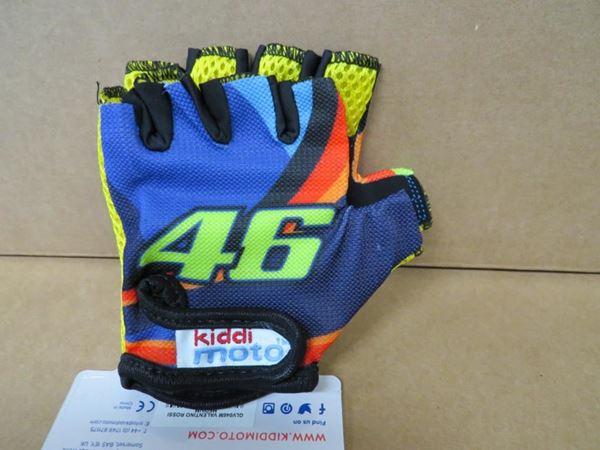 Picture of Valentino Rossi kiddi moto gloves