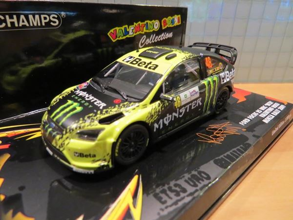 Picture of Valentino Rossi Ford Focus RS WRC Monza Rally 2009 1:43