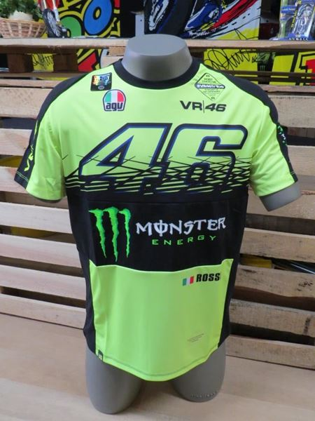 Picture of Valentino Rossi Monza Rally replica t-shirt MOMTS274428