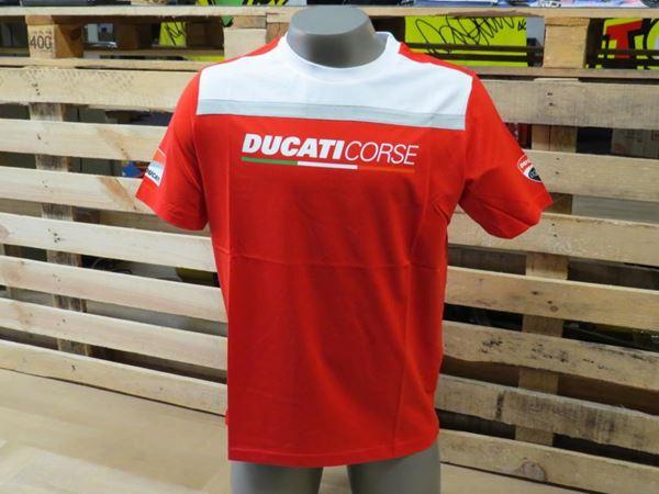 Picture of Ducati Yoke contrast t-shirt 1736006