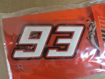 Picture of Marc Marquez rubber sleutelhanger keyring new 93 1653070