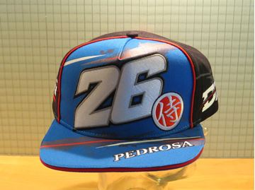 Picture of Dani Pedrosa flat cap pet DPMCA224303