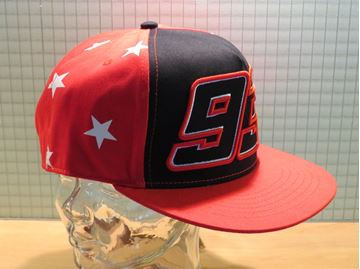 Picture of Marc Marquez #93 stars flat visor cap pet 1743005