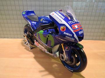Picture of Jorge Lorenzo Yamaha YZR M1 Movistar 2015 1:10 MotoGP Monster