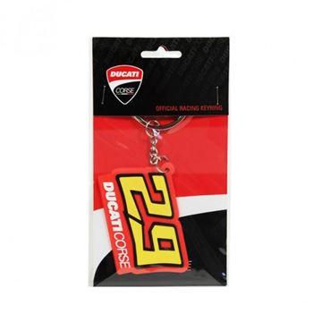 Afbeelding van Andrea Iannone Ducati keyring sleutelhanger  #29