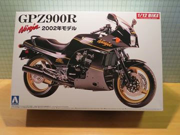 Afbeelding van Bouwdoos Kawasaki GPZ900R 1:12 Aoshima 2002