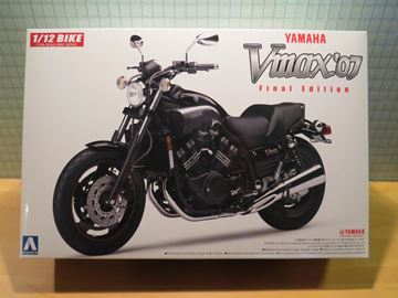Afbeelding van Bouwdoos Yamaha V-MAX 1:12 Aoshima