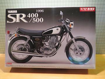 Afbeelding van Bouwdoos Yamaha SR500 1:12 Aoshima