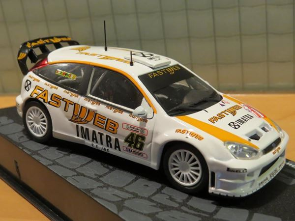 Valentino Rossi Ford Focus Rs Wrc Monza Rally 2006 1 43