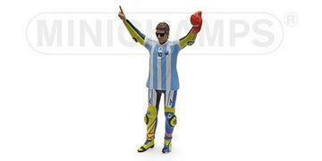 Afbeelding van Valentino Rossi figuur Standing 2015 Argentina 1:12 312150146