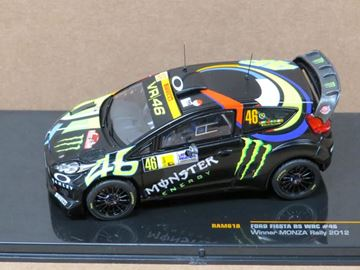 Picture of Valentino Rossi Ford Fiesta RS WRC Winner Monza Rally 2012 1:43 RAM618