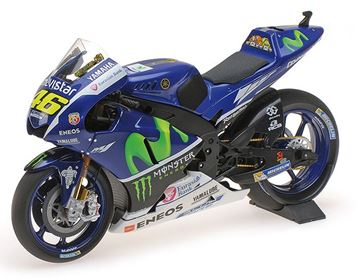Picture of Valentino Rossi Yamaha YZR-M1 2016 test Sepang 1:12 122163246