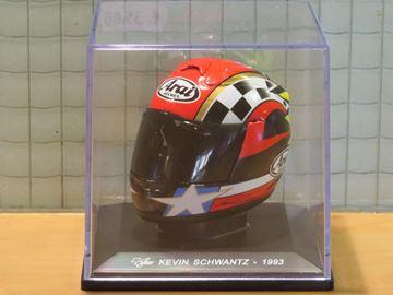 Picture of Kevin Schwantz Arai helmet 1993 1:5