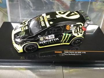 Picture of Valentino Rossi Ford Fiesta RS WRC Winner Monza Rally 2014 1:43 RAM603