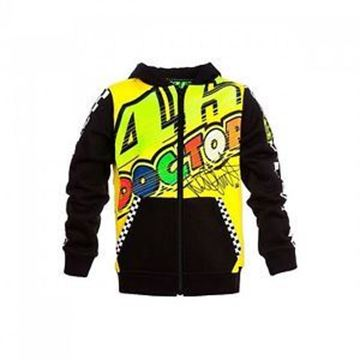 Picture of Valentino Rossi kid  hoodie 46 the doctor VRKFL264101