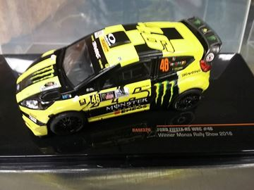 Picture of Valentino Rossi Ford Fiesta RS WRC Winner Monza Rally 2016 1:43 RAM320