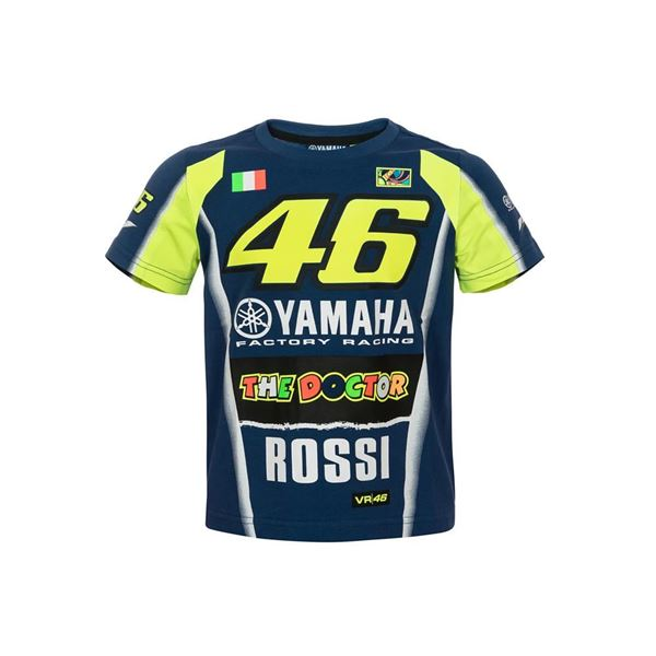 Picture of Valentino Rossi Dual Yamaha kid t-shirt YDKTS314709