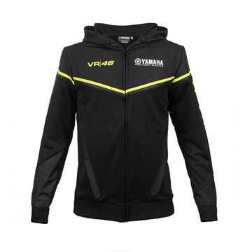 Picture of Valentino Rossi black edition Yamaha dual hoodie YKMFL315704
