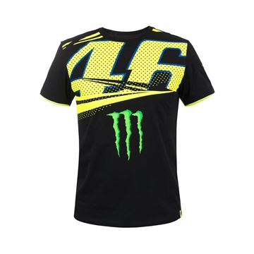 Picture of Valentino Rossi Monster Energy 46 t-shirt MOMTS316204