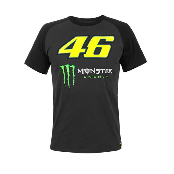 Picture of Valentino Rossi Monster Energy Raglan sleeves t-shirt MOMTS316720