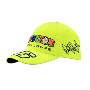 Picture of Valentino Rossi the doctor 46 fluo yellow cap pet VRMCA306828