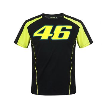 Picture of Valentino Rossi 46 t-shirt black VRMTS306004