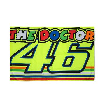 Afbeelding van Valentino Rossi the doctor stripes vlag flag VRUFG310703