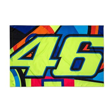 Picture of Valentino Rossi sun and moon vlag flag VRUFG310903