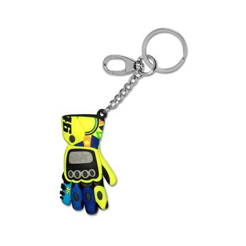 Afbeelding van Valentino Rossi 3D glove handschoen keyring sleutelhanger VRUKH311303