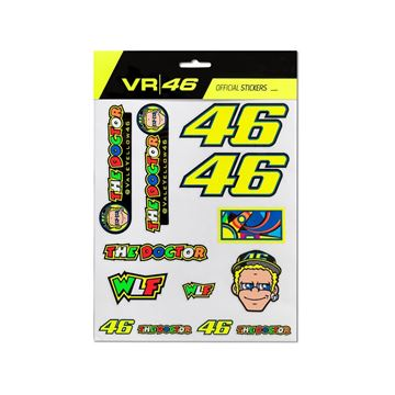 Picture of Valentino Rossi stickers large VRUST312603