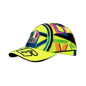 Picture of Valentino Rossi Kid replica helmet cap pet VRKCA324403