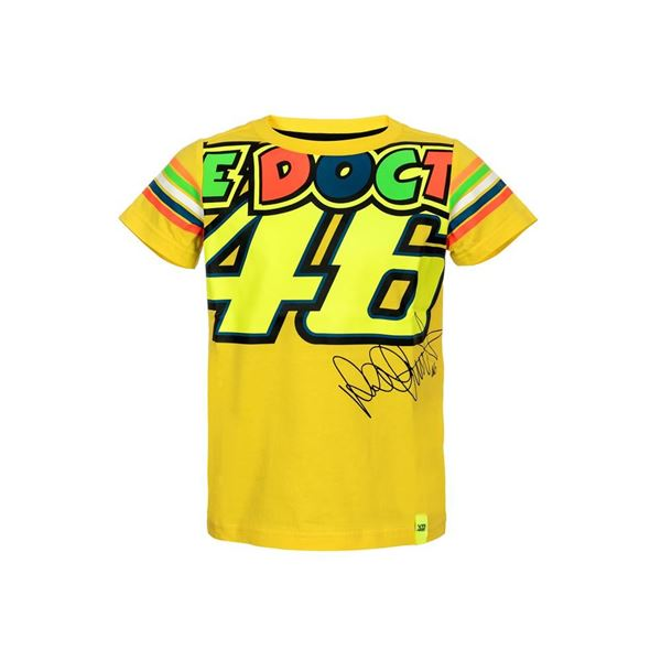 Picture of Valentino Rossi Kid / kinder the doctor 46 t-shirt VRKTS307901