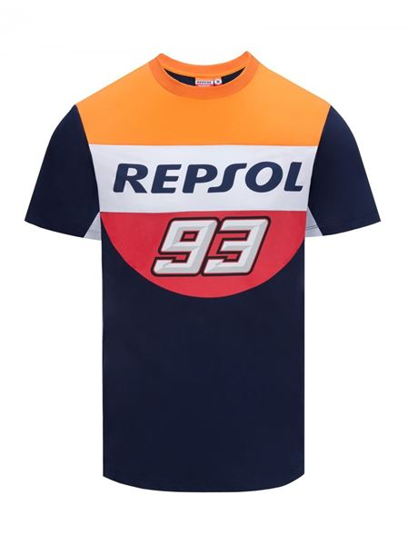 Picture of Marc Marquez #93 t-shirt dual Repsol 1838503
