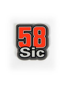 Afbeelding van Marco Simoncelli #58 magnet koelkast magneet 1455005