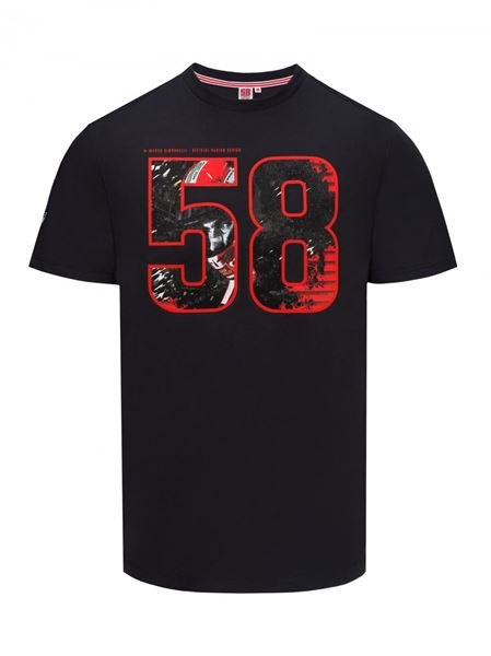 Picture of Marco Simoncelli mens t-shirt #58 1835008