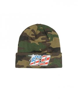 Picture of Nicky Hayden #69 beanie / muts camo 1844003