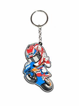 Afbeelding van Nicky Hayden #69 rubber keyring / sleutelhanger 1854002