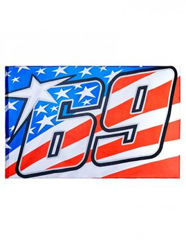 Picture of Nicky Hayden #69 vlag / flag 1854003