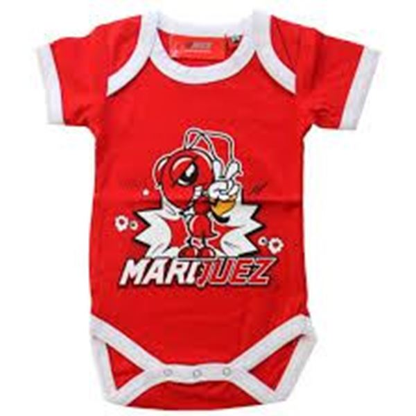 Picture of Marc Marquez #93 baby romper red 1883002