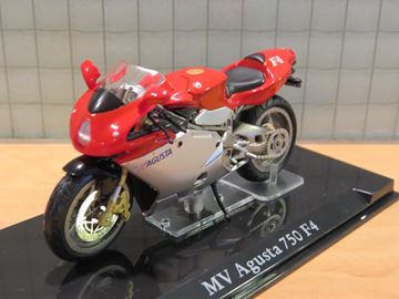 Picture of MV Agusta 750 F4 1:24 atlas