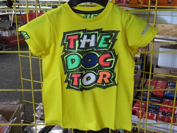 Picture of Valentino Rossi kids the doctor t-shirt VRKTS206501