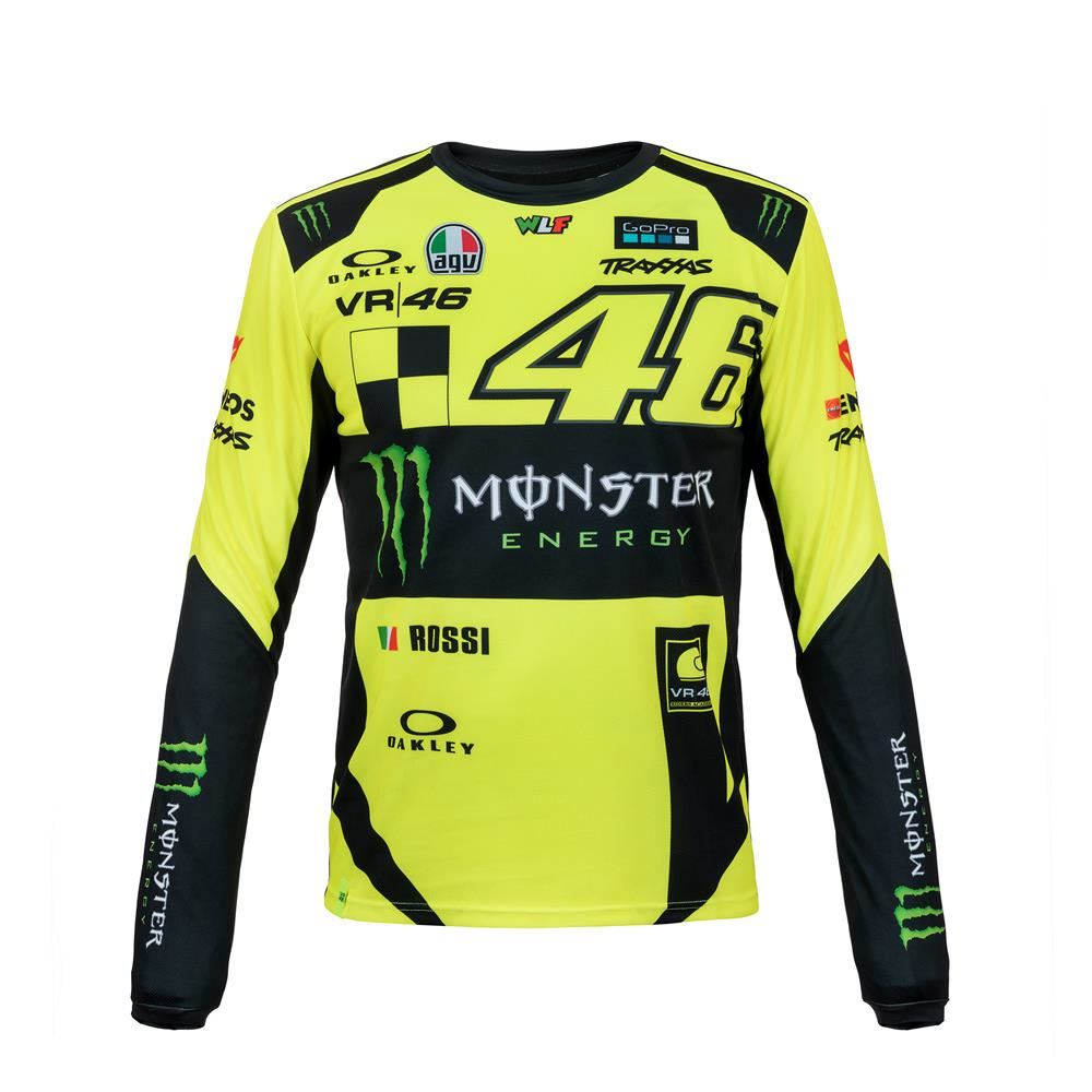 valentino rossi monza replica long sleeves t shirt momts316028. Black Bedroom Furniture Sets. Home Design Ideas