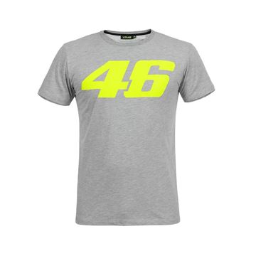Picture of Valentino Rossi Core large 46 t-shirt grey COMTS325005NF