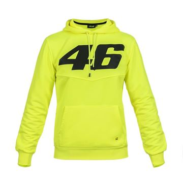 Picture of Valentino Rossi Core large 46 hoodie fluo COMFL325128