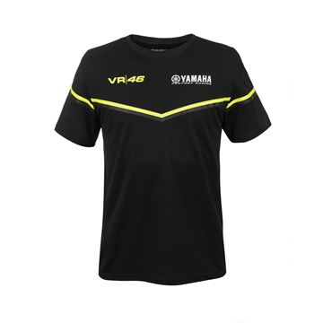 Picture of Valentino Rossi Yamaha black edition t-shirt YDMTS315504