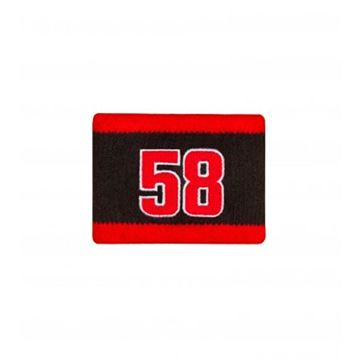 Picture of Marco Simoncelli #58 wristband polsband 1855007