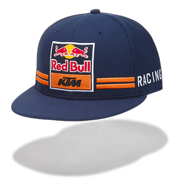 Afbeelding van KTM official team Red Bull flat cap pet KTM17006