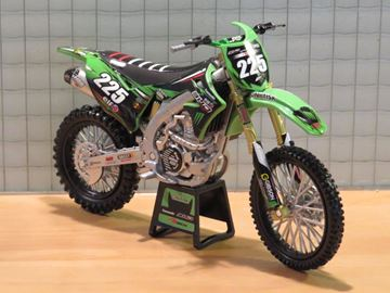 Picture of Brian Moreau Kawasaki Bud Monster KX450F 2018 1:12 57913