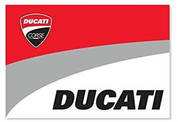 Picture of Ducati corse vlag flag 1756004